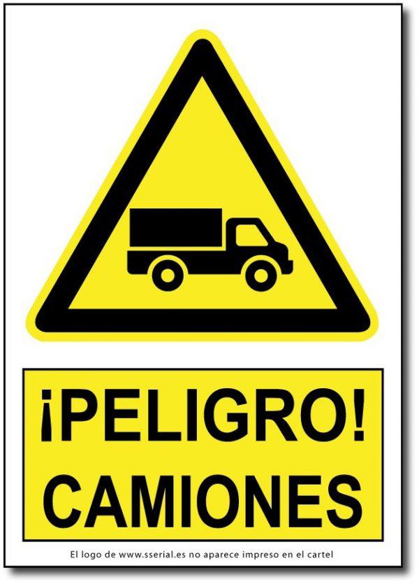 Peligro camiones