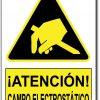 Atención campo electrostatico