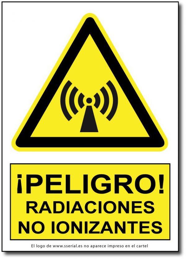 Peligro radiaciones no ionizantes