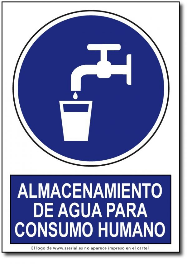 Almacenamiento de agua para consumo humano