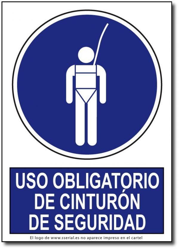 Uso obligatorio de cinturón de seguridad